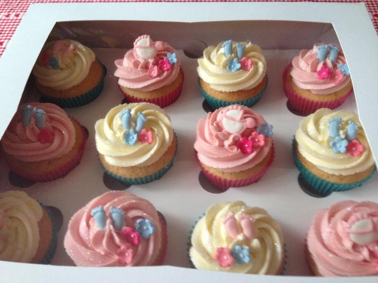 Baby Shower Cupcake Ideas On Pinterest : Pinterest