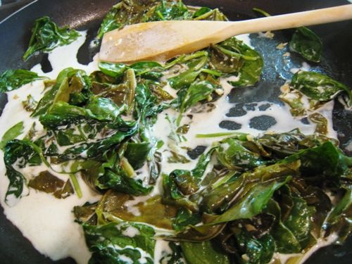 Creamed Sorrel and Spinach | To try | Pinterest