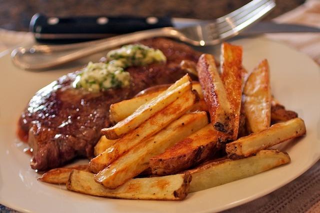 how to cut a franc steak