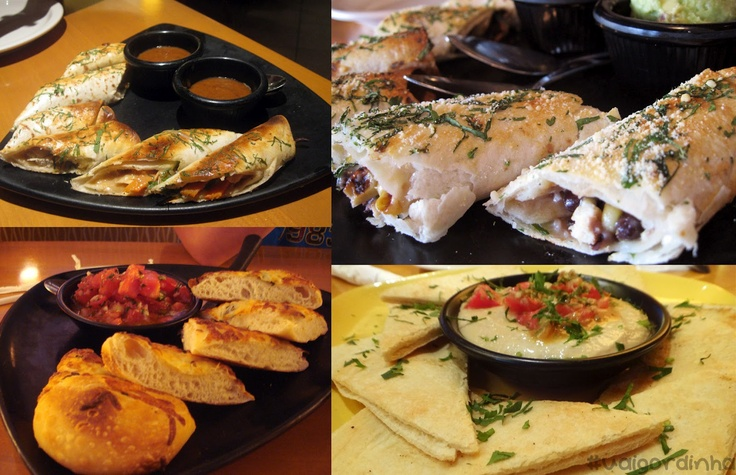 California Pizza Kitchen Appetizers