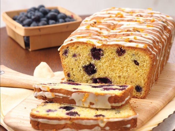 Orange-Blueberry Bread. Simple and yummy sounding.