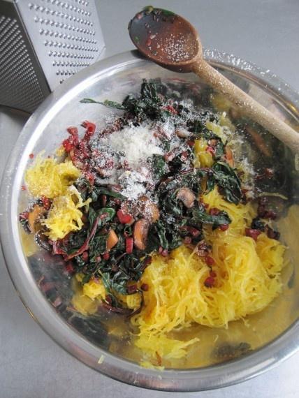 spaghetti squash. SO. GOOD. | Savory eats | Pinterest