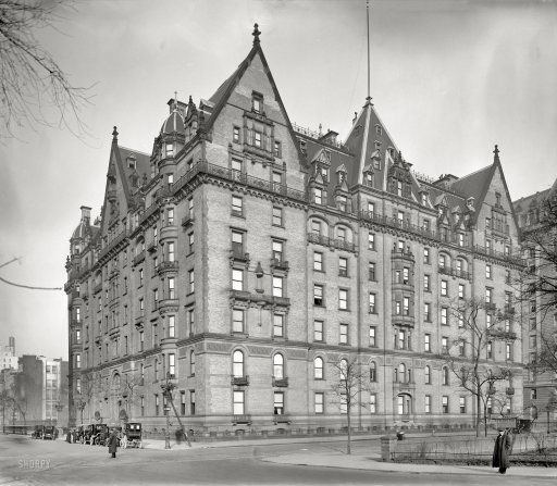 The Dakota Apartments, Central Park West and West 72nd St, New York ...