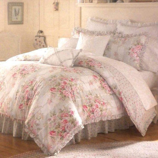 Vintage Chic Eliza Twin Comforter 8pc Bedding Set Shabby