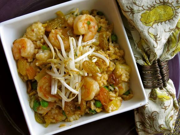 Pineapple Shrimp Fried Rice | Chocolate Broccoli | Pinterest
