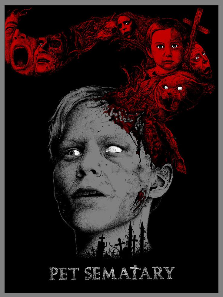 Pet Sematary #poster #horror | Posters & Prints | Pinterest