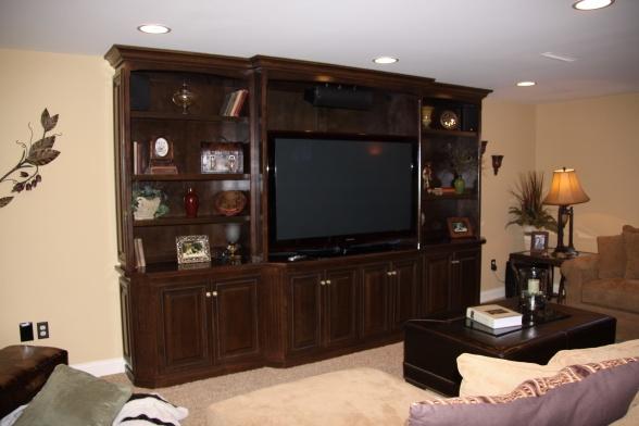 basement entertainment center home fixer upper pinterest