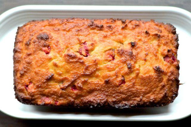 Orange-Cranberry Bread, gluten-free - eggs, ghee (clarified butter ...