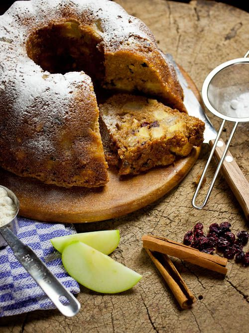 Spiced nutty apple-pear cake ~ perfect for the holidays! | Simone's ...