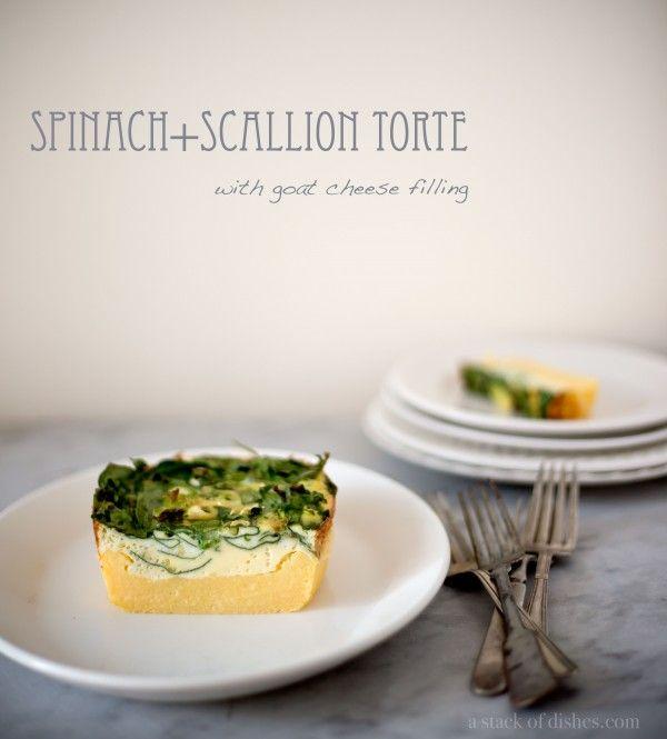 polenta tart quiche | Recipes to Try | Pinterest