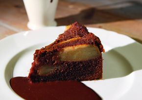 More like this: pear cake , pears and chocolates .