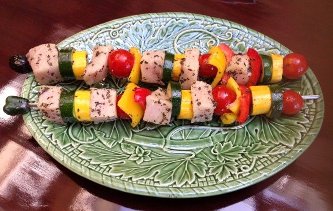 Recipe: Swordfish skewers with cilantro-lime oil | Triathlete.com