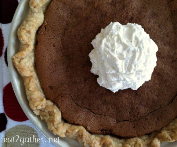 Minny's Chocolate Pie   Yummies   Pinterest