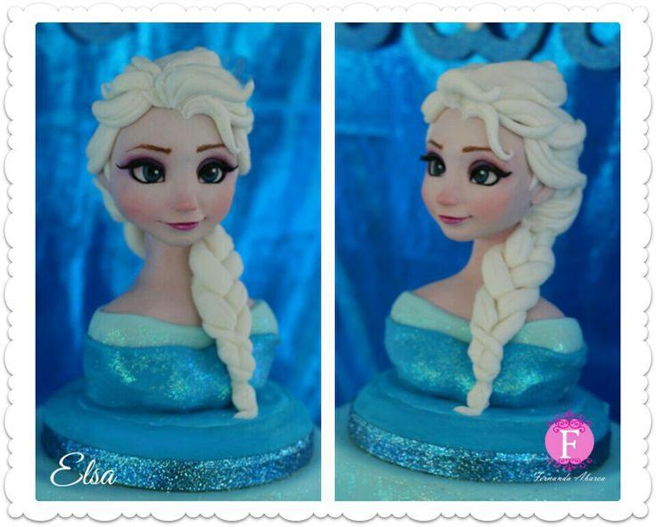 Queen elsa frozen cake frozen
