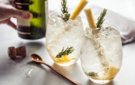 Pineapple Rosemary Crush Cocktail // Don't forget about the booze! # ...