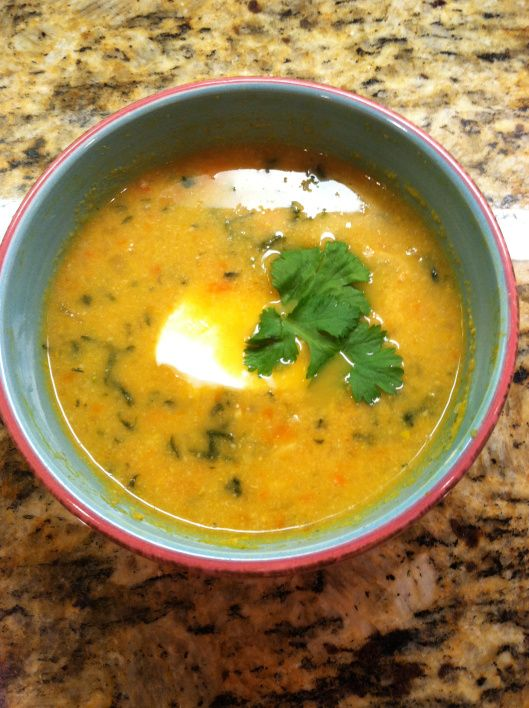 Golden cauliflower cream soup | Soup Kitchen | Pinterest