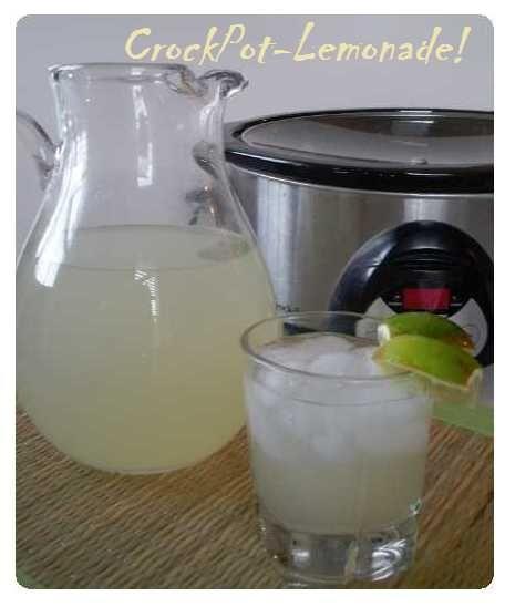 Crockpot Lemonade