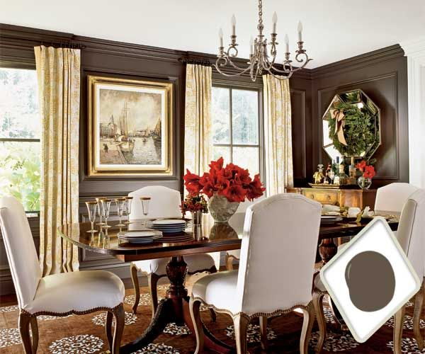 best colors for dining room drama