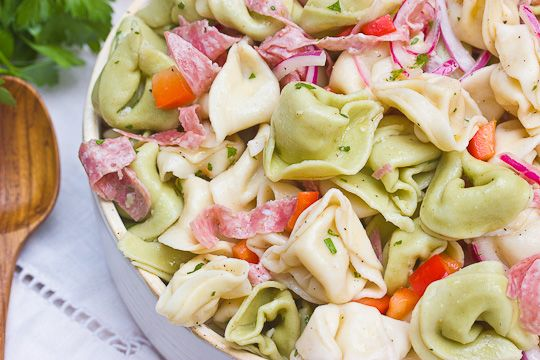Summer Side Recipe: Zesty Tortellini Salad Recipes from The Kitchn ...