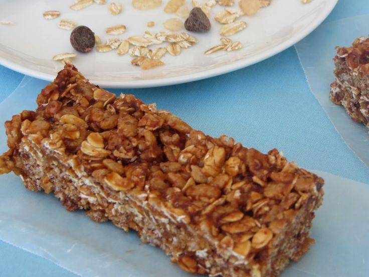 No-bake Biscoff granola bars | Desserts | Pinterest
