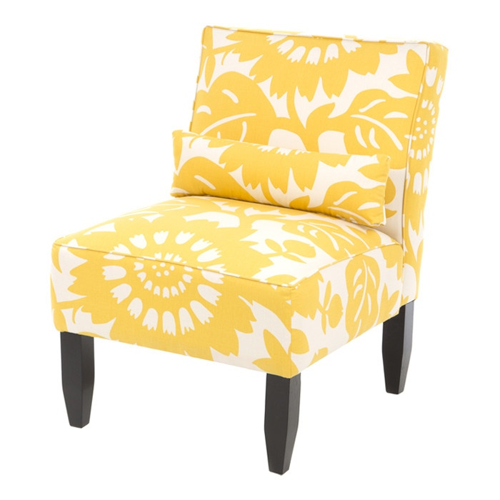 Sunshine Yellow Accent Chair Upholstery Ideas Pinterest