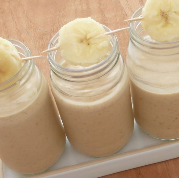 Peanut Butter Banana Smoothie | PopSugarFit | Pinterest