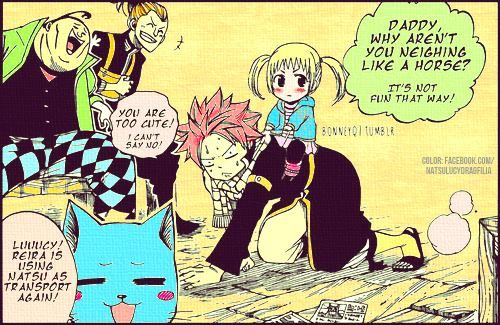 Fairy Tail Natsu And Lucy Kids