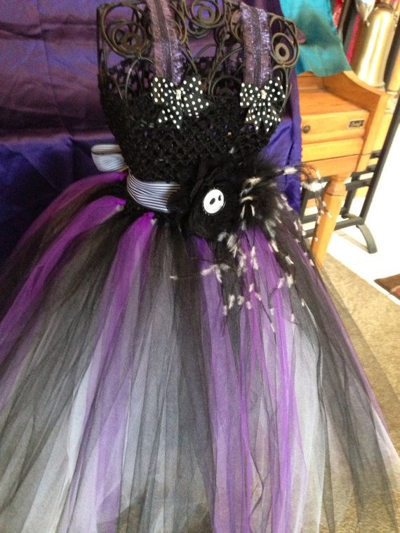 Nightmare Before Christmas Tutu Dress with a free by FiFiBeesFancy, $ ...