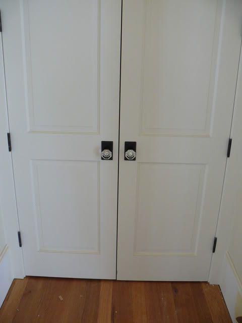 Glass Knobs On Closet Doors Porte Pinterest