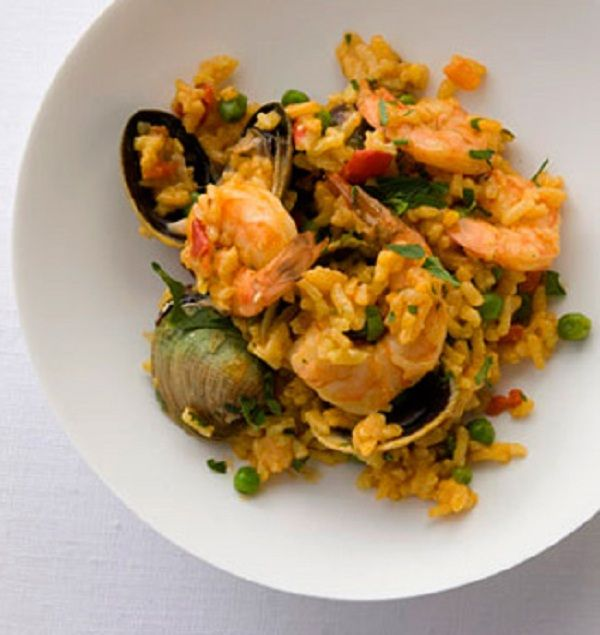 Easy Seafood Paella | Fresh from the Sea | Pinterest