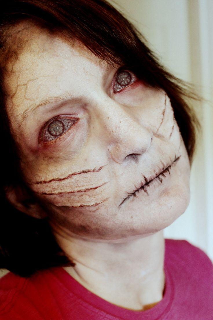 Ghost Makeup? By Rhonda Causton(Reel Twisted FX) | SPFX Makeup | Pinterest