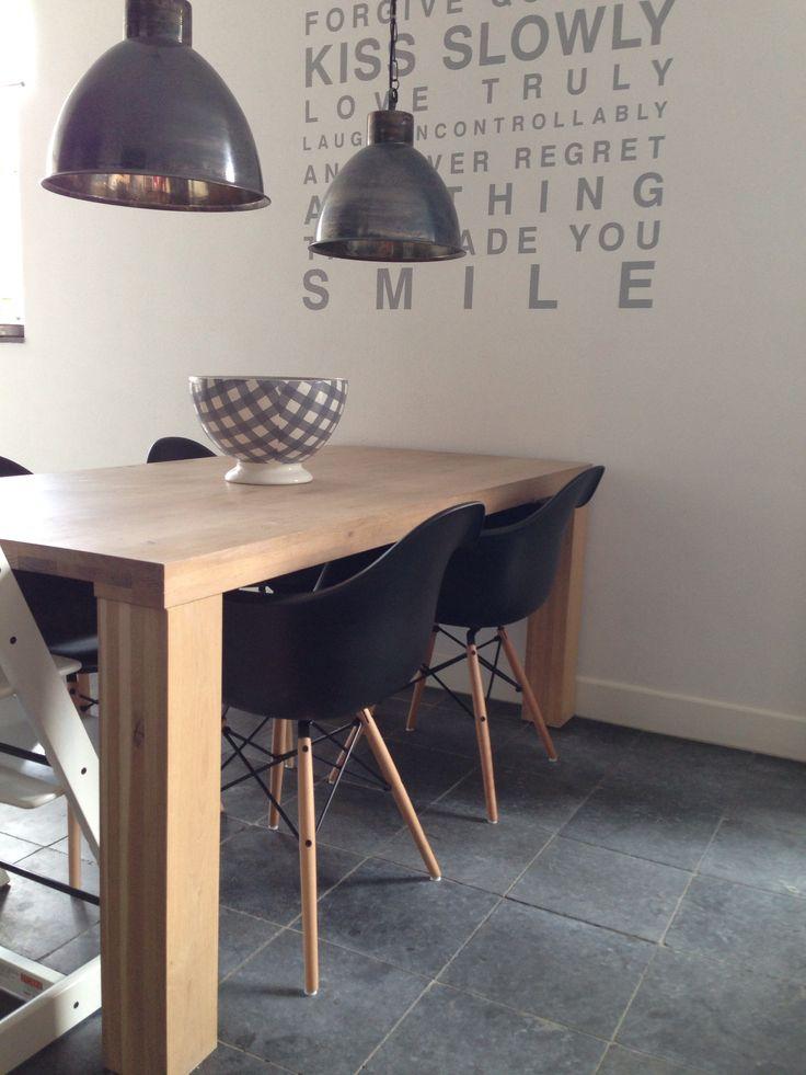 Dinner Table with Charles Eames Chairs Sala - Cadeiras e Mesas de ...