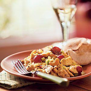 Curry Turkey Salad | Karen's Thanksgiving Turkey Recipes | Pinterest