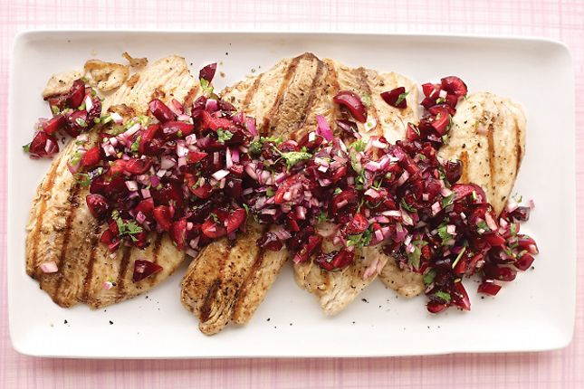 Grilled Tilapia with Cherry Salsa | 20 Cherry Recipes