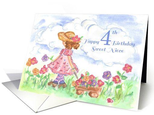 happy 4th birthday niece