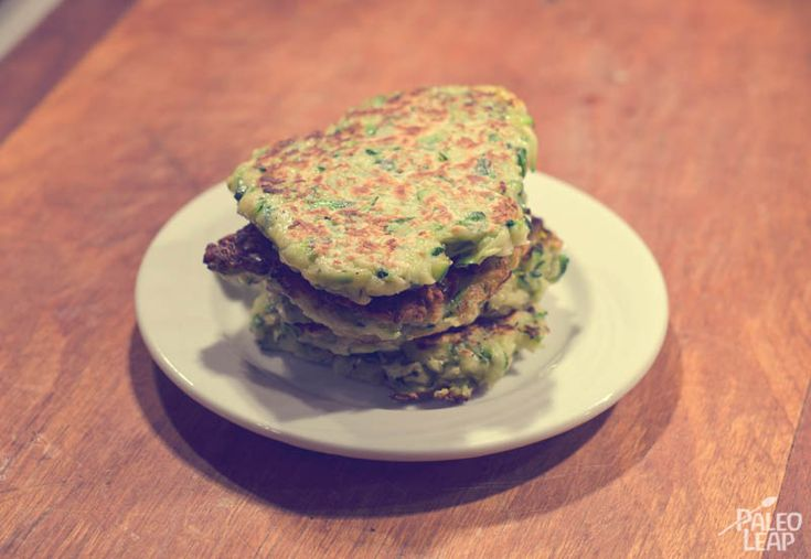 Zucchini Cakes | All About Paleo | Pinterest