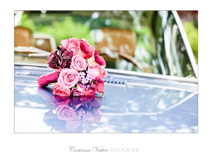 Brautstrauss pink  wedding bouquet pink  www.hochzeitsfotografie ...