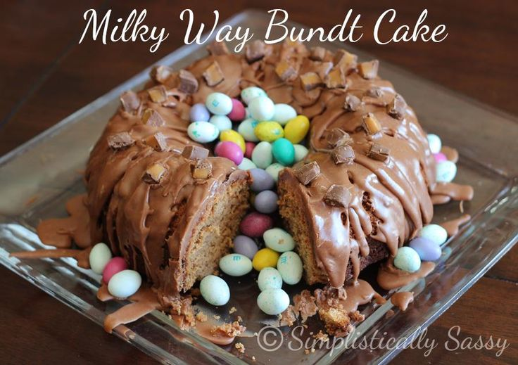 Milky Way Bundt Cake