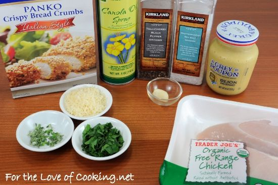 For the Love of Cooking » Mustard-Herb Panko Crusted Chicken Breasts