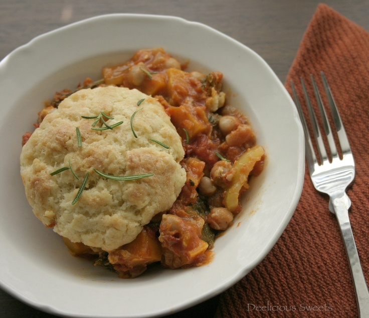 Minestrone And Parmesan Biscuit Potpie | Soups and salad stuffs | Pin ...
