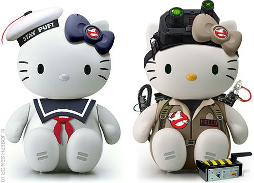 Hello Kitty variants by Joseph Senior