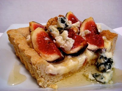Fresh Fig And Hazelnut Tart Recipe — Dishmaps
