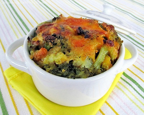 Broccoli and Cauliflower au Gratin | vegetables | Pinterest