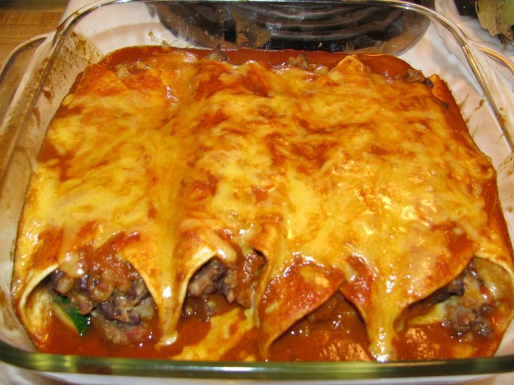 Veggie Enchiladas | Vegetarian goodness | Pinterest