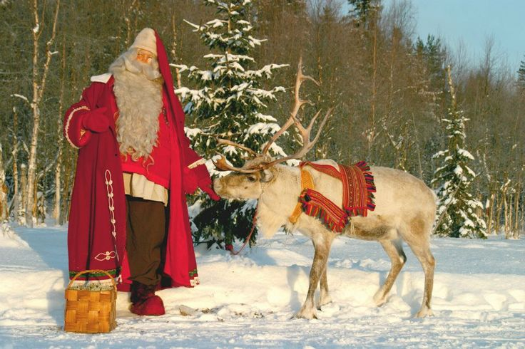 Father Christmas in Lapland http://www.activitiesabroad.com/family ...