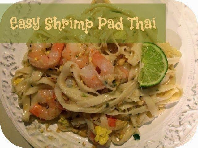 Wedding Rings to Teething Rings: Easy Shrimp Pad Thai