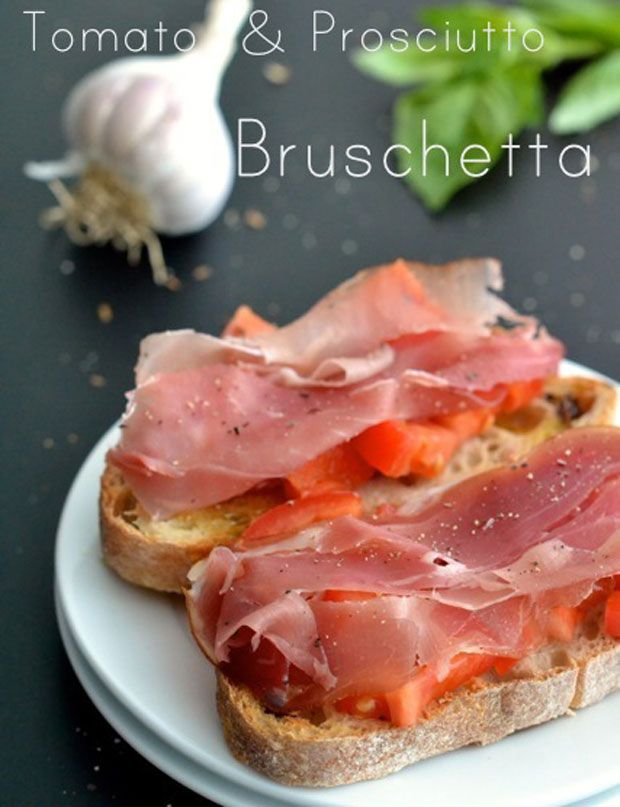 Peach & Prosciutto Bruschetta Recipes — Dishmaps