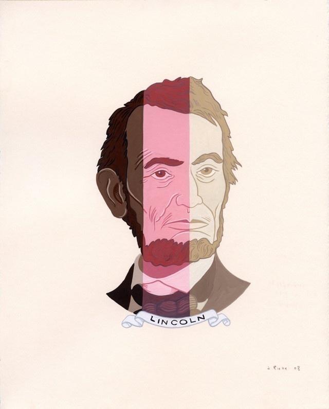Justin Richel - Neopolitan Abe. - The Jealous Curator