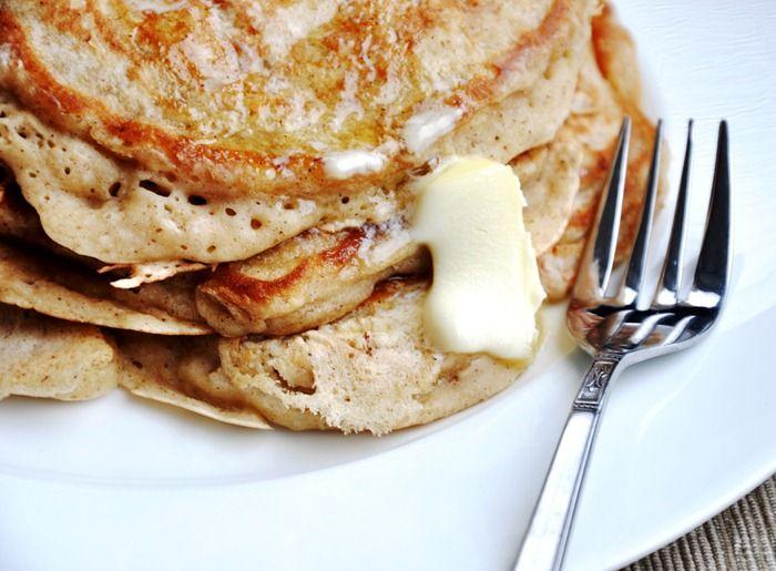 eggnog pancakes | Comes e bebes | Pinterest