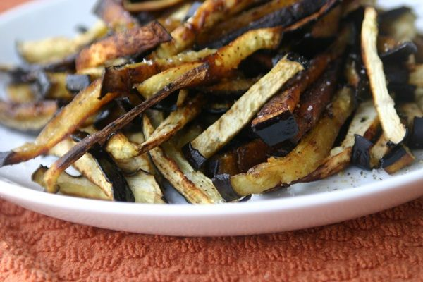 Paleo Eggplant Fries I served these with homemade mayo seasoned with ...